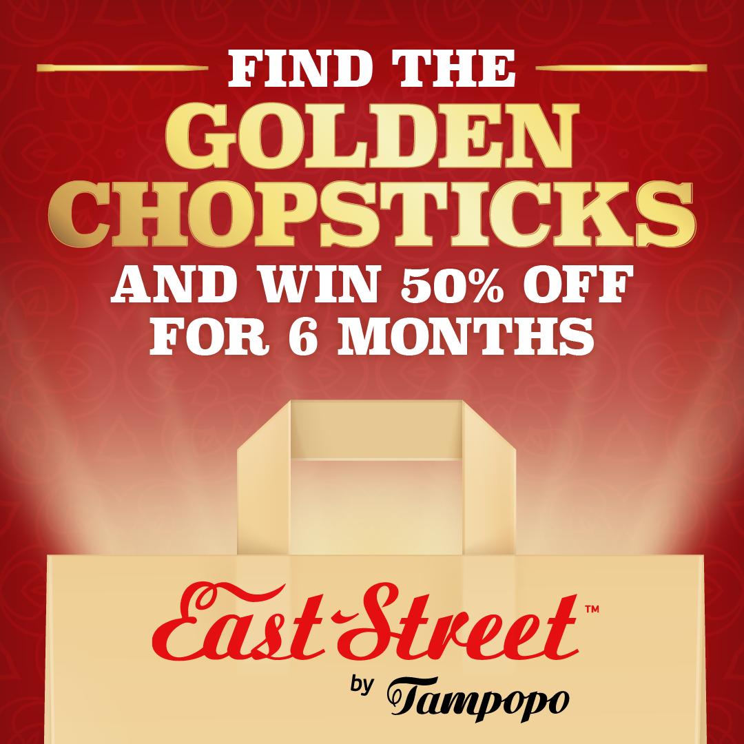 Find the Golden Chopsticks to win!