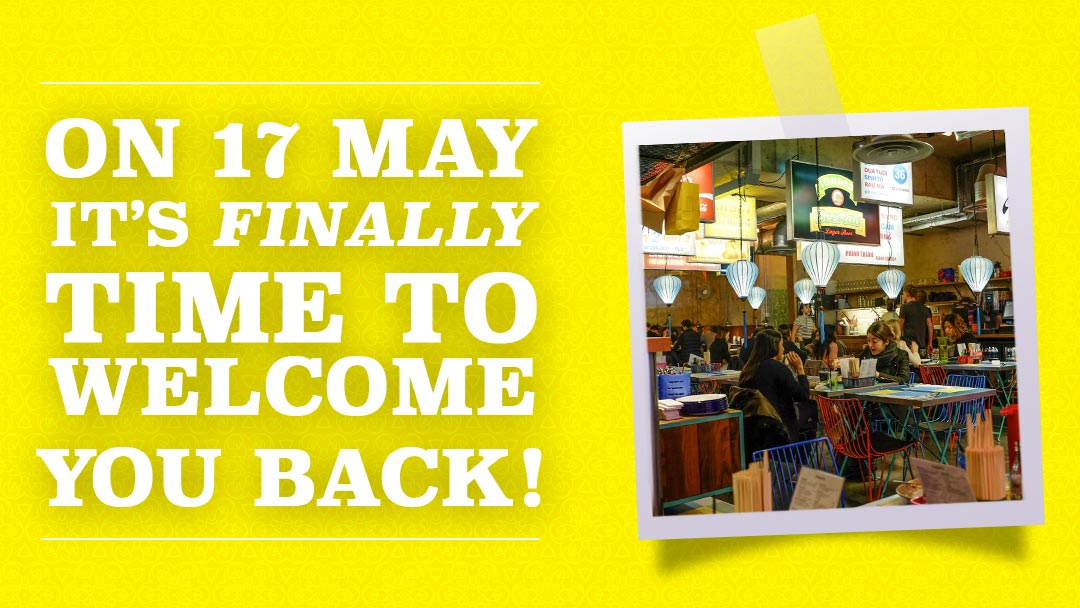 May 17 Update: Welcome Back!